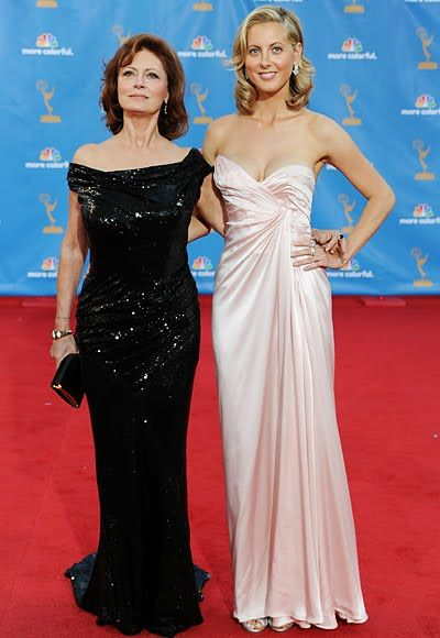 2010  – Susan Sarandon In Donna Karan  and Eva Amurri in  vintage Thierry Mugler