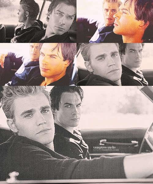 Damon & Stefan - Vampire Diaries