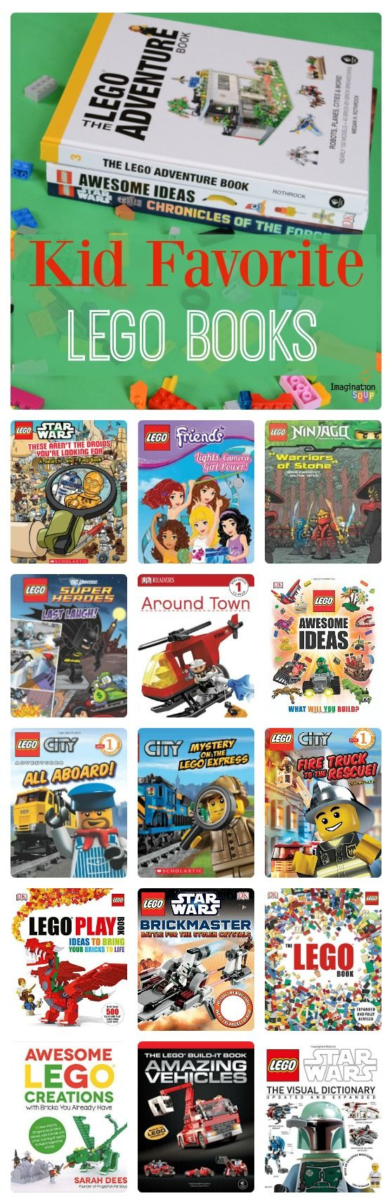 Kid-Favorite LEGO Books (picture books, early readers, nonfiction LEGO ideas)