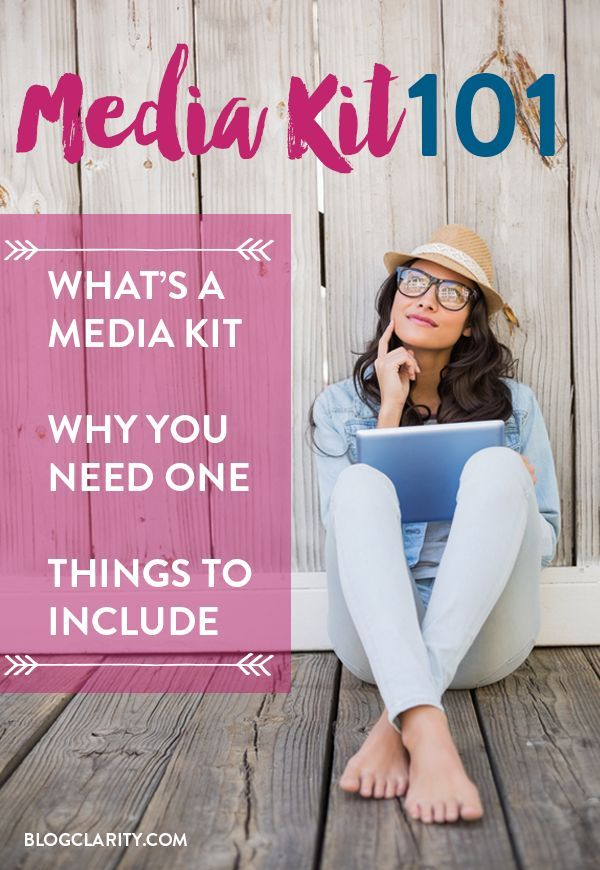 What's a Media Kit? Before you start creating a blogger media kit, you need to know the basics: what exactly a media kit is, why you need one, and what to include. Consider this post your Media Kit 101!