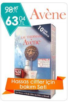 Avene Hassas Ciltler İçin Bakım Seti Dermoeczanem.com'da http://www.dermoeczanem.com/avene-eau-thermale-seti
