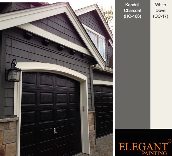 Grey house paint schemes popular exterior house colors - Popular exterior paint colors 2014 ...