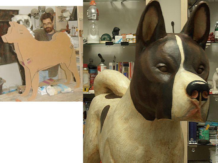 Akita, Perro Akita Cachorro, Juan Canfield, escultor. Escultura mexicana, escultores México - See more at: http://www.casacanfield.com
