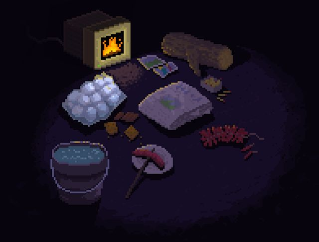 Created by Ted Martins, Fireplace is a type controlled pixel art fireplace for your mac or pc to stay warm this xmas. Type words to interact with the fireplace or just sit back and enjoy. @Evan Sharp