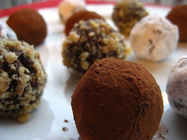 Chocolate truffles by anniedanko, via Flickr