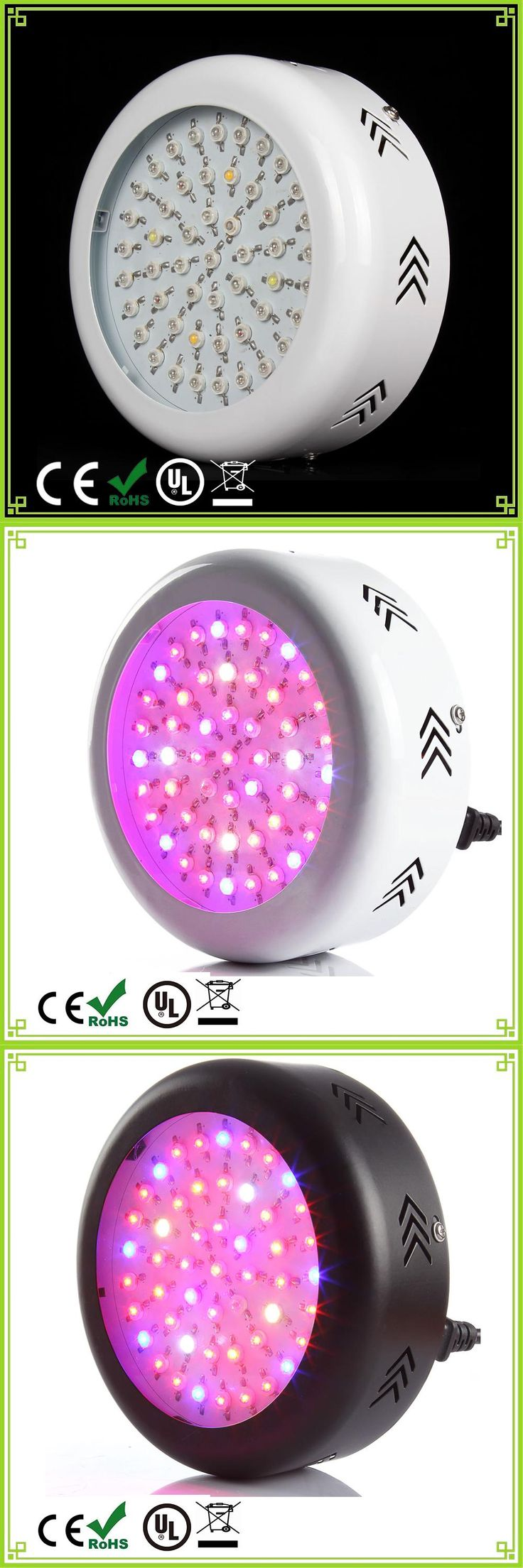 [Visit to Buy] 1pcs High Power UFO 150W Full Spectrum LED Grow Light AC85-265V Indoor Grow Tent Plants Growth and Flowering Growing Lights #Advertisement