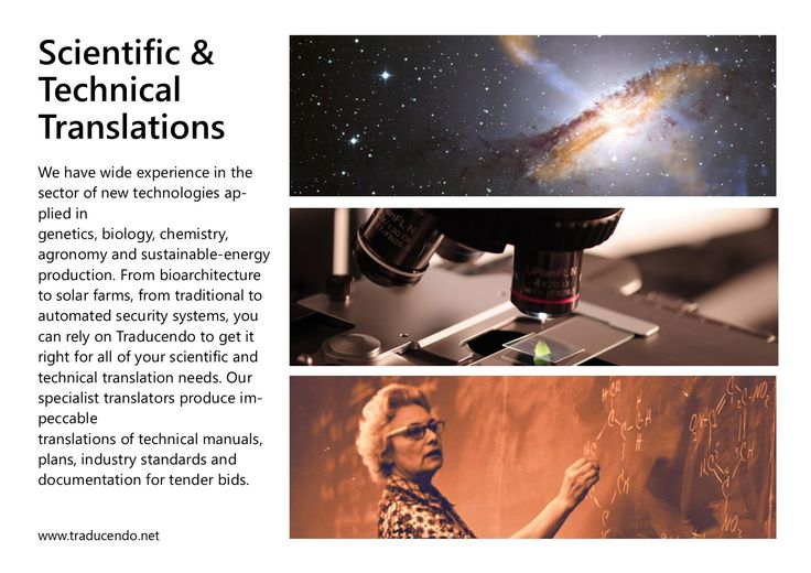 #Scientific and #technical documents are no more a problem. We have been translating for years in the fields of #science, #biology, #chemistry, #genetics, #agronomy, #analysis, robotics, renewable energies, #medicine, medical machinery. Today we are ready to offer all our #translation experience to your organisation. Ask for a free quotation: www.traducendo.net #languagespecialists #traducendoltd #scientifictranslation #technicaltranslation #manual #asktheprofessionals #freequotation…