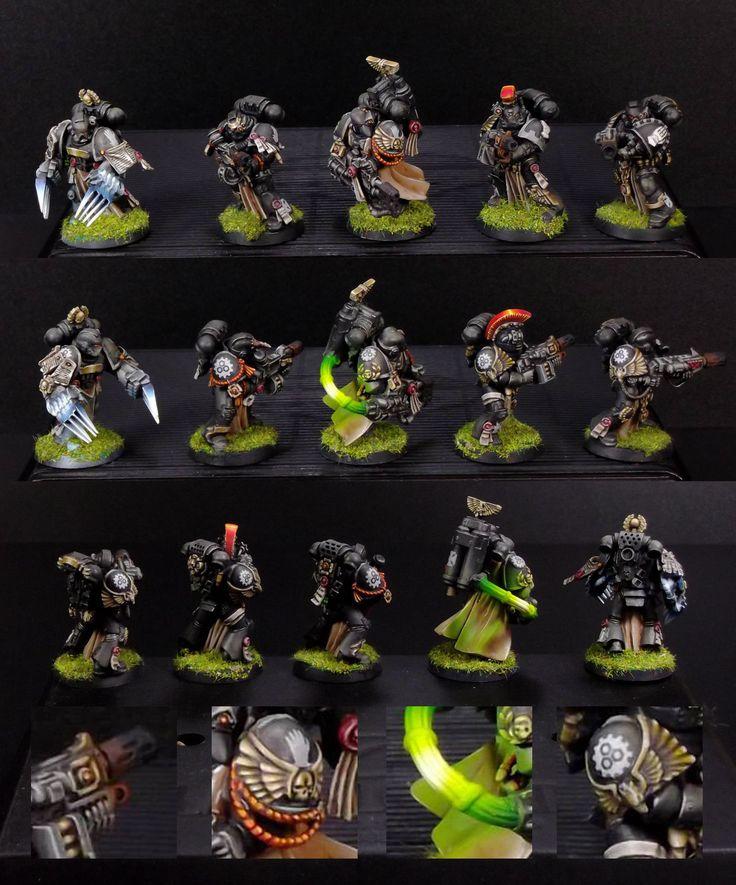 Sternguard Veterans squad