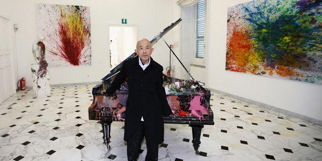 Exposition Art Blog: Shozo Shimamoto - Gutai group