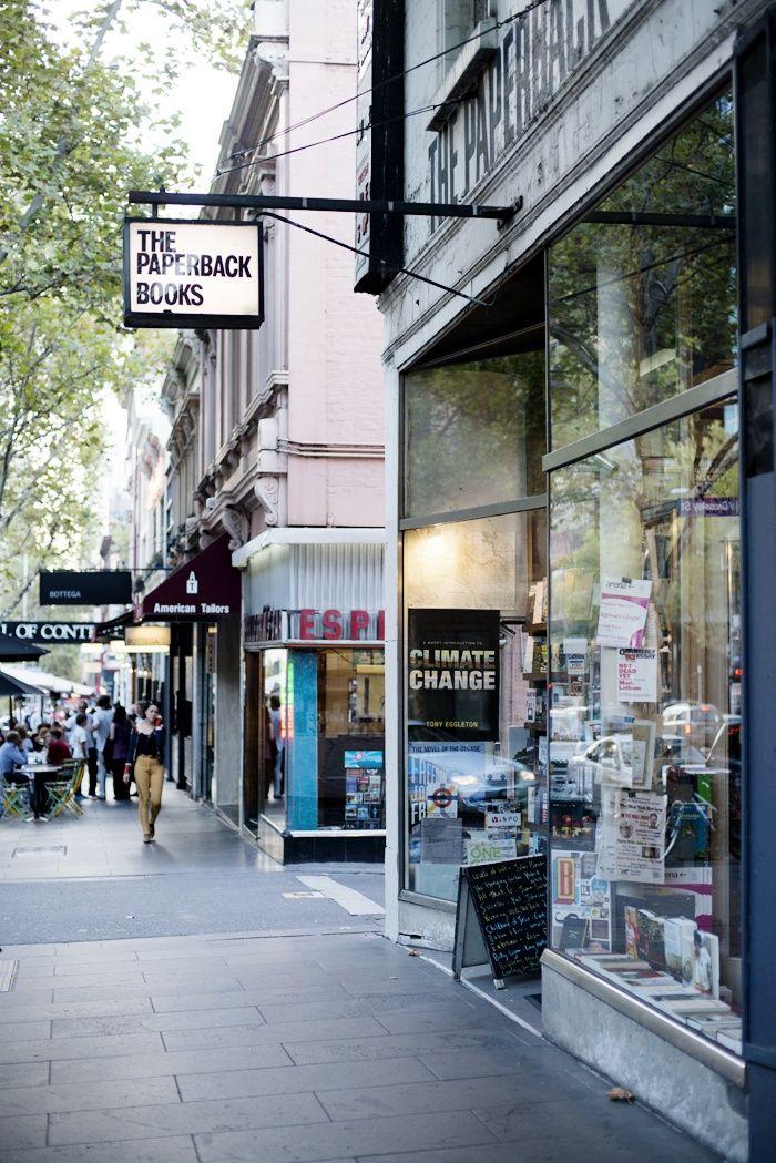 Bourke Street, Melbourne ©️️️️ Natasha Calhoun