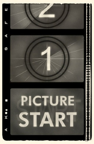 Start Picture film strip - vintage style poster - allposters.com