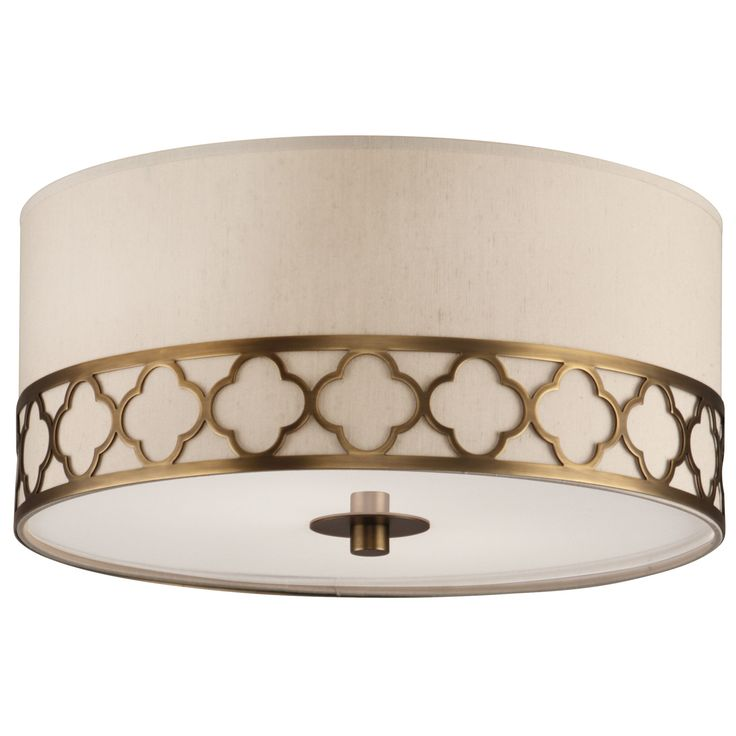 information robert abbey addison semi flush mount features the addison collection features classic elements of metal quatrefoil design with dupioni