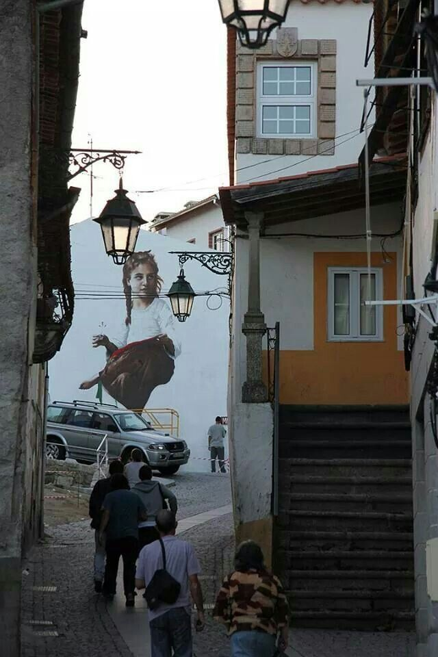 Covilhã, Portugal...this town is very close to my birth town/ city