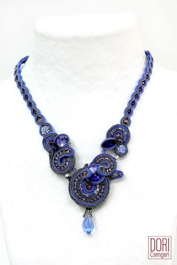 aur n097 , aurn97 , aurn097 , lavender necklaces , violet necklaces , purple necklaces ,