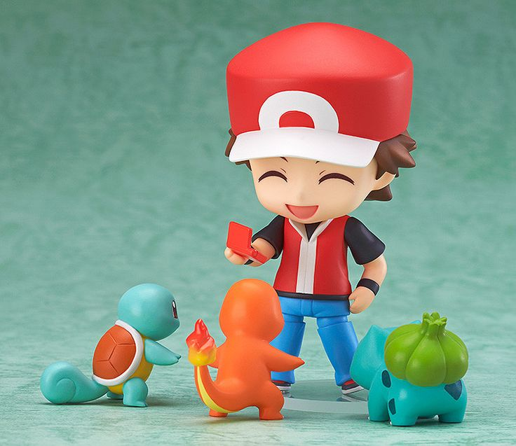 Trainer Red nendoroid.                                                                                                                                                                                 Más