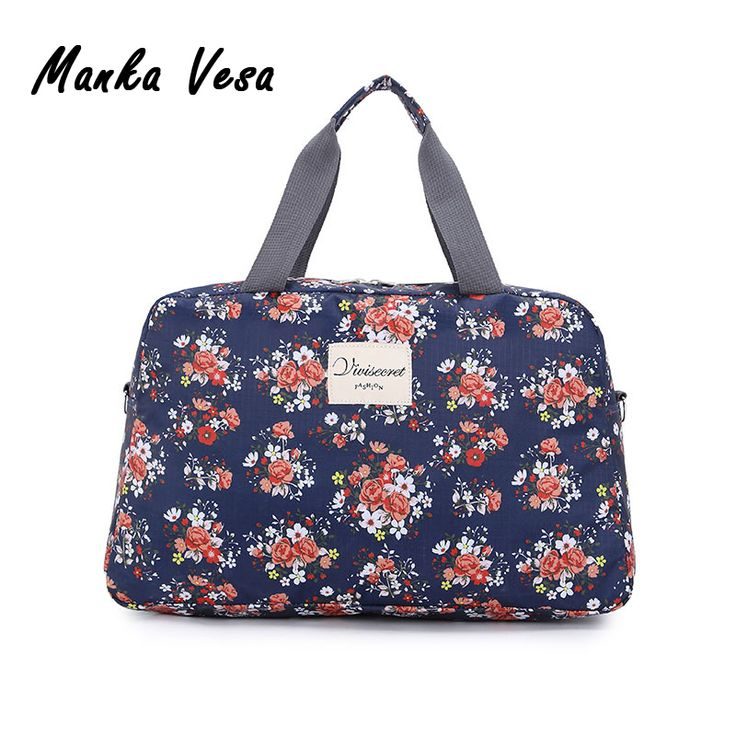 New Fashion Women's Travel Bags Luggage Handbag Floral Print Women Travel Tote Bags Large Capacity //Price: $19.98 & FREE Shipping //     #freeshipping