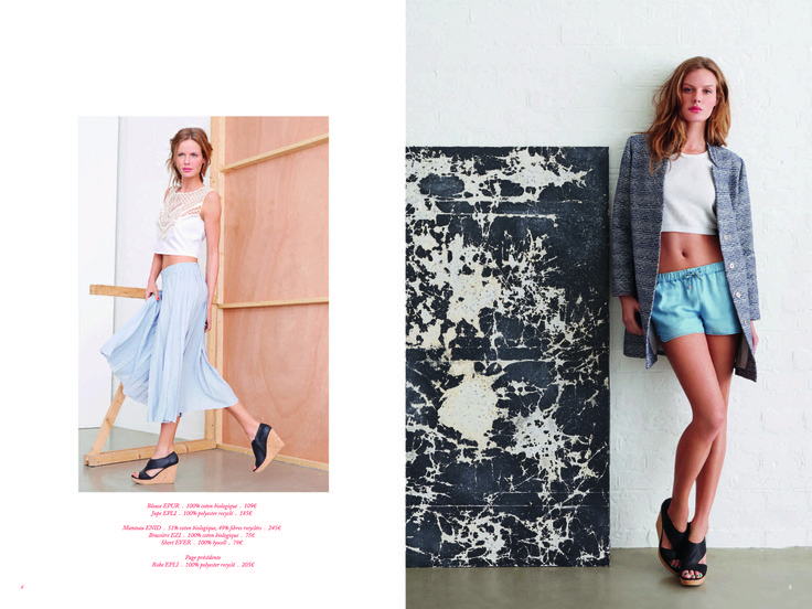 Page 3 - Look Book PE14 EKYOG #modepositive #green #spring #summer #collection2014