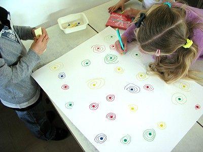 Ecole maternelle de la Fontaine: Ateliers de graphisme...