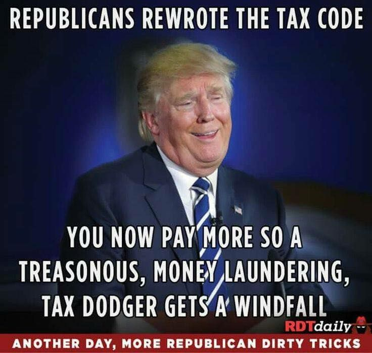 The Republican tax scheme will be adding over a TRILLION dollars in debt for our grandkids and great grandkids to take care of! #Republican #Greed