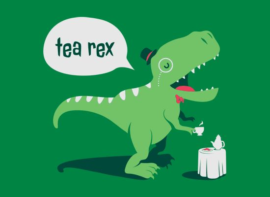 Tea Rex T-Shirt | SnorgTees
