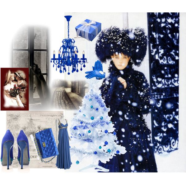 Blue Christmas (Dr.Jivago), created by cezarina.polyvore.com
