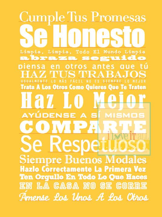 Spanish Rules