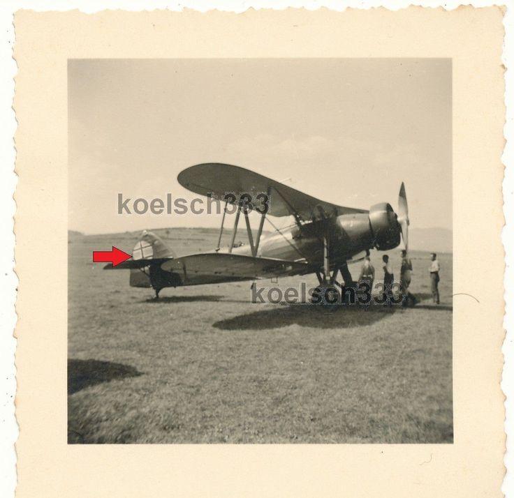 Foto Tschechien Letov S-328 Doppeldecker Flugzeug slowakische Kennung Beute WL !   eBay