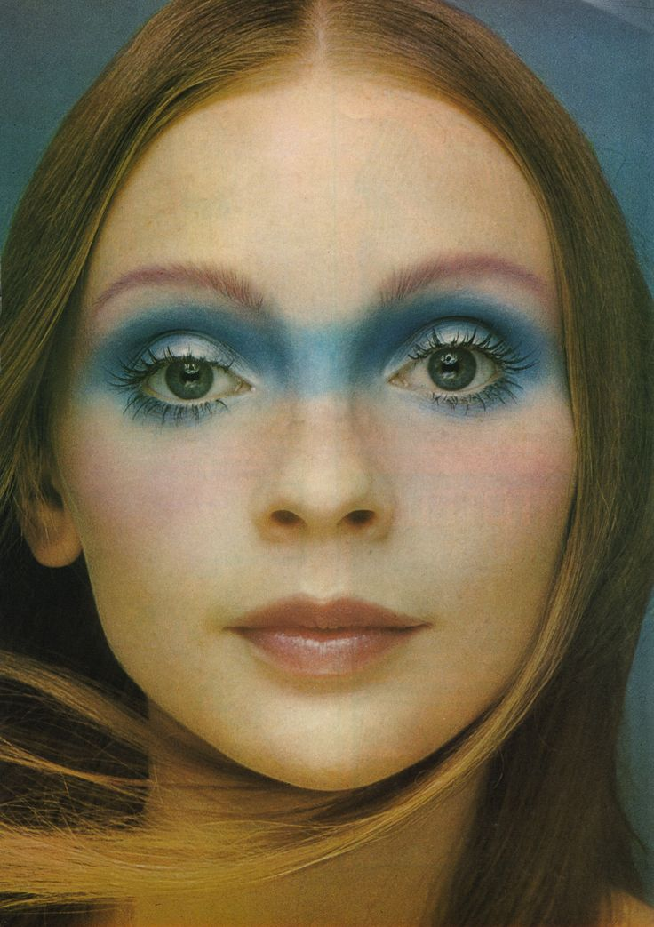 Mary Quant's Face in the Clouds, from Vanity Fair magazine, April 1971