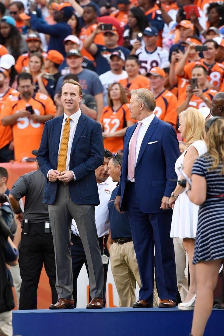 Former Denver Broncos quarterbacks and Super Bowl Champions Peyton Manning…