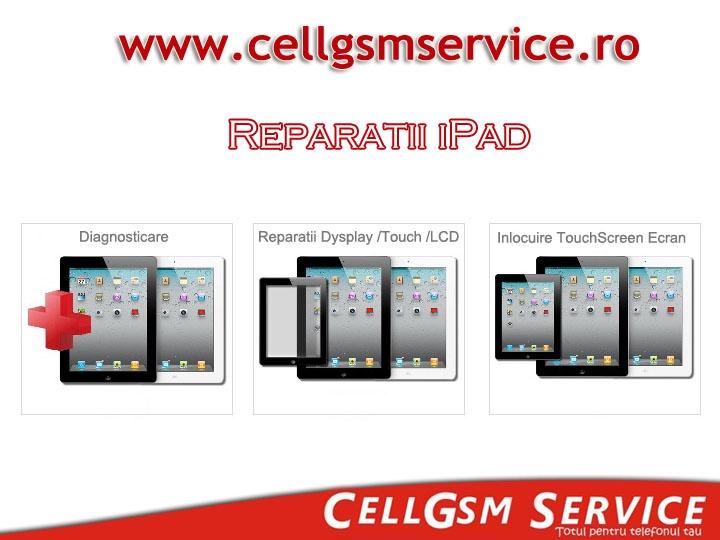 Service iPad orice model