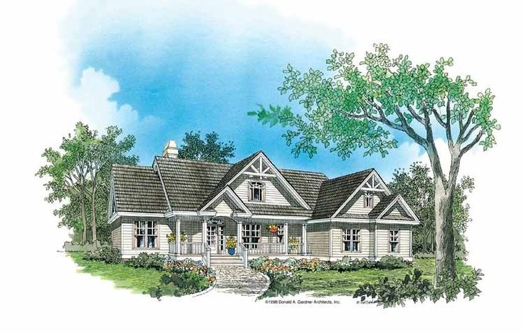 Eplans Craftsman House Plan - Character and Curb Appeal - 1544 Square Feet and 3 Bedrooms(s) from Eplans - House Plan Code HWEPL07120