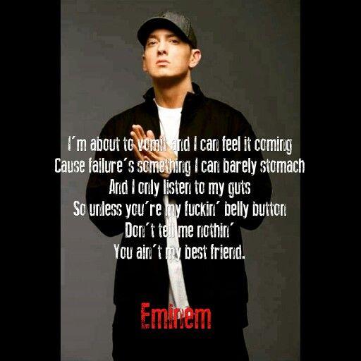 Eminem ° Best friend   Eminem   Quotes   Pinterest ...