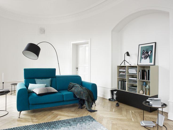 Designer furniture, modern sofa by BoConcept.