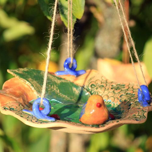 Pítko #handmade #keramika #ptacek #ptak #jaro #pitko #rucniprace