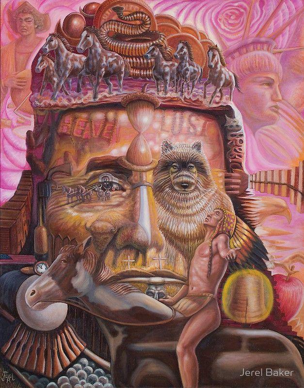 Chief Joseph  ''NATIVE''  by Jerel Rowan Baker