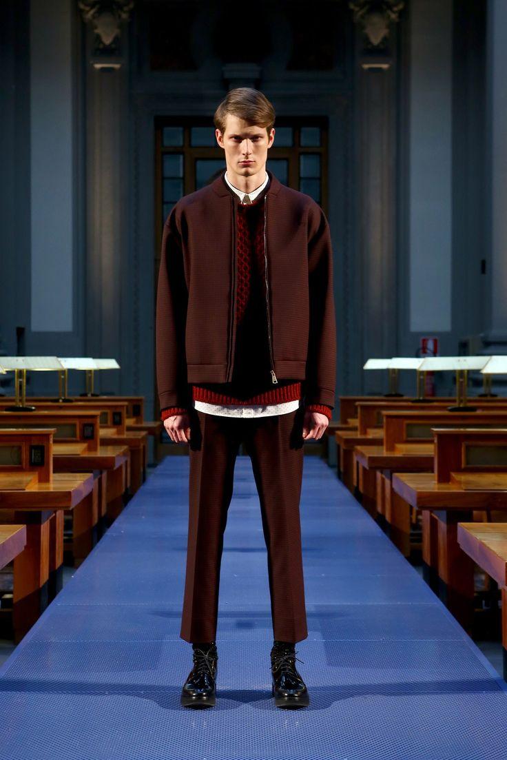 No-21: fall 2014 menswear fashion show. Original to Vogue.com slideshow: https://www.vogue.com/fashion-shows/fall-2014-menswear/no-21/slideshow/collection#8