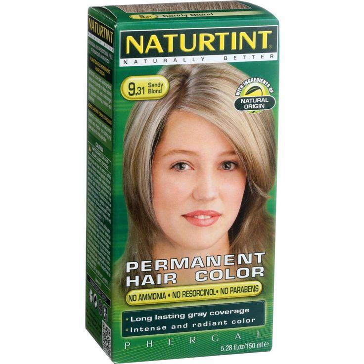 Naturtint Hair Color Permanent I 9 31 Sandy Blonde