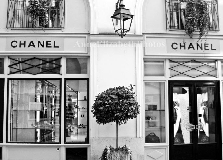 Chanel boutique in paris places i want to go