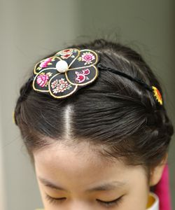 배씨 댕기 Girls hairstyle