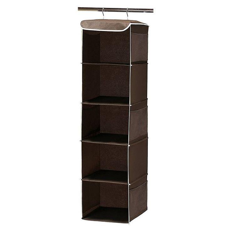 Simple Houseware 5 Shelves Hanging Closet Organizer - GoodHousekeeping.com