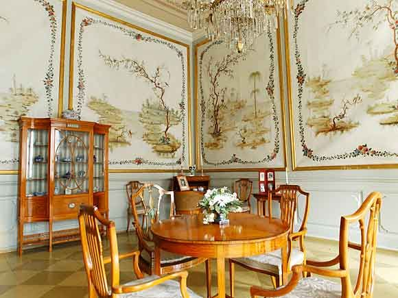 The Chinese Cabinet at Stiftsgården