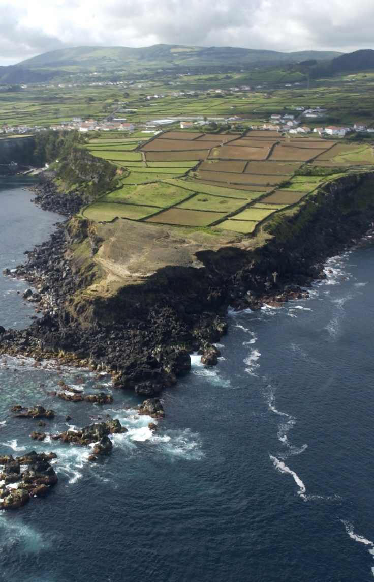 Lajes Azores! I wasn't joking when I said the ocean was my backyard!!