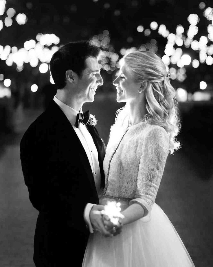 """A Metallic New Year's Eve Wedding in Philly 