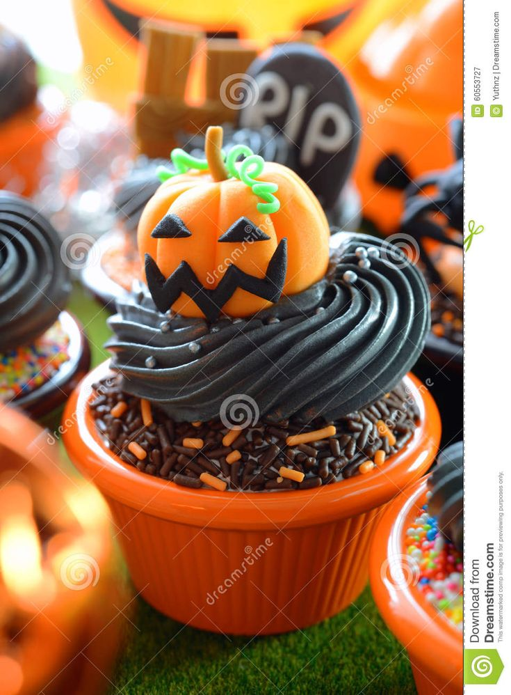 Download Halloween Cupcakes Royalty Free Stock Photography via CartoonDealer. Yummy Halloween Cupcakes Party. Zoom into our collection of high-resolution cartoons, stock photos and vector illustrations. Image:60553727