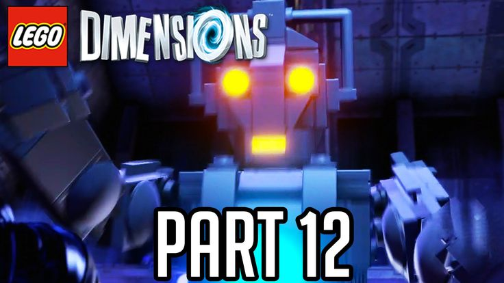 LEGO Dimensions Walkthrough Part 12 - DOCTOR WHO CYBERMAN BOSS!! (Gamepl...