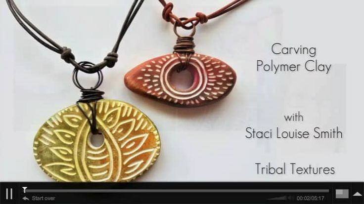 FREE PREVIEW: Carving Polymer Clay with Staci Louise Smith sur Vimeo