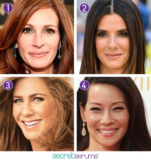 Who do you think is aging the most gracefully? Julia Roberts (1),. Lucy LiuJennifer ...