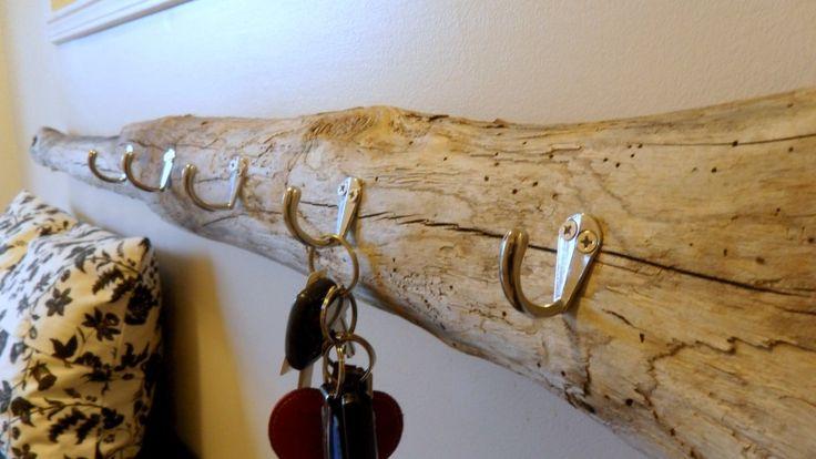 Diy Driftwood Key Holder