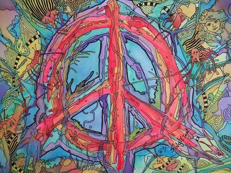 'Psychedelic Dreams', artwork by Singleton. 'To fathom