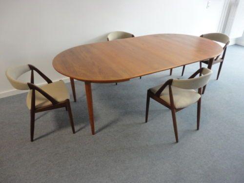 Kai kristiansen skovmand andersen table xxl teak tisch for Table design xxl